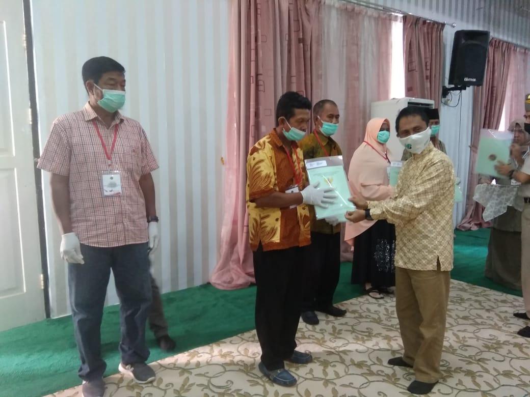67% Tanah di Kabupaten Gorontalo Tersertifikat