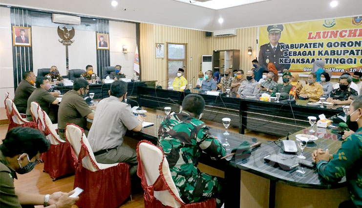 Gorut Terpilih JadiDaerah Binaan Kejaksaan Tinggi Gorontalo