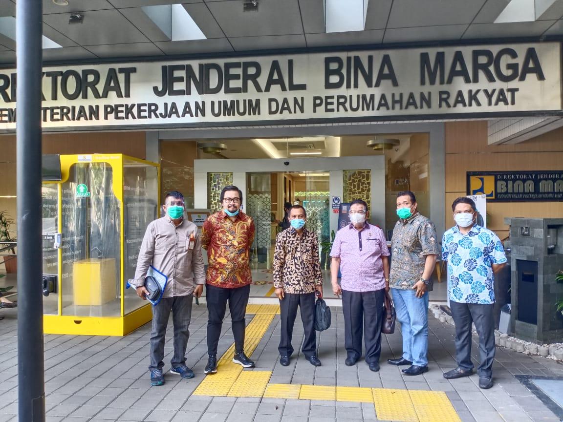 Kunjungi Direktorat Bina Marga, DPRD Provinsi Minta Peningkatan Ruas Jalan di Gorontalo