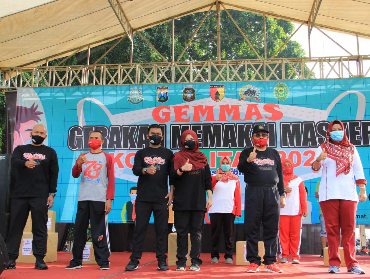 Dandim 0808/Blitar Ajak Masyarakat Tetap Mengenakan Masker