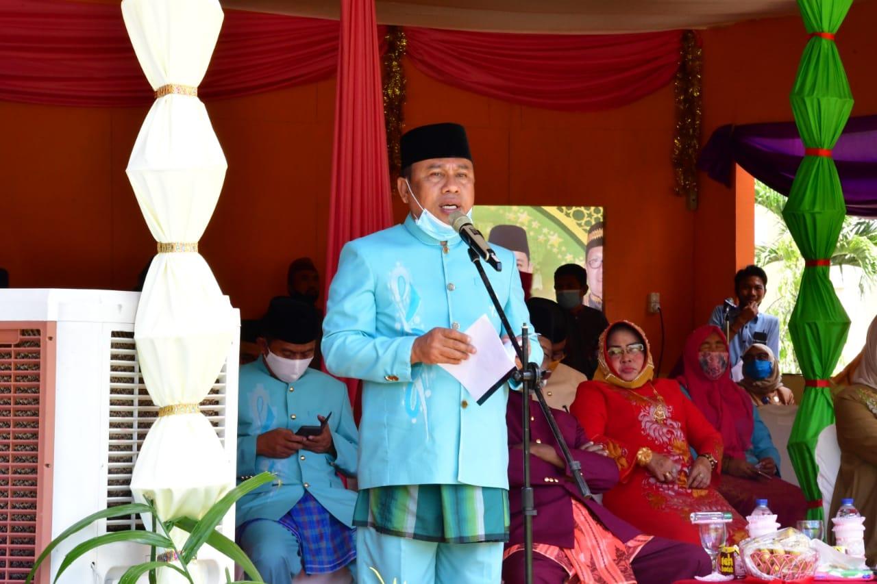 Ketua Lembaga Pengembangan Tilawatil Qur'an (LPTQ) Kabupaten Gorontalo Utara, Ridwan Yasin