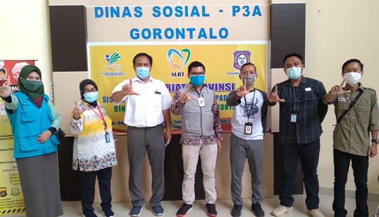Sukseskan Program ATENSI, Loka Lansia Minaula Jalin Koordinasi dengan Gorontalo
