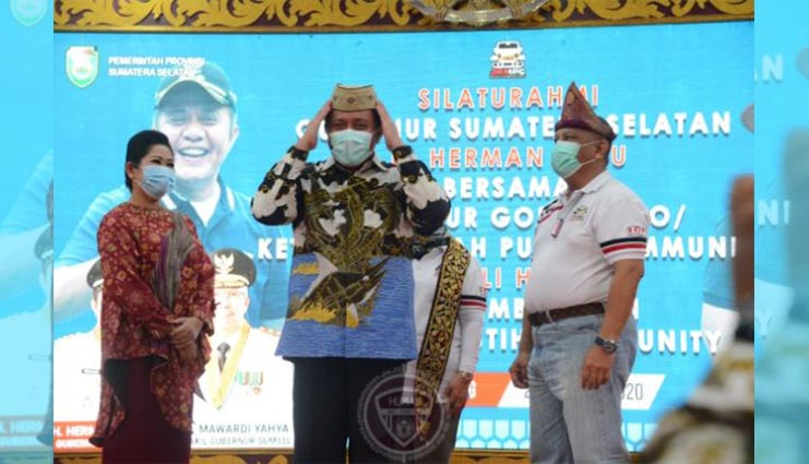 Di Pulau Sumatera, Rusli Habibie Promosikan Pariwisata Gorontalo