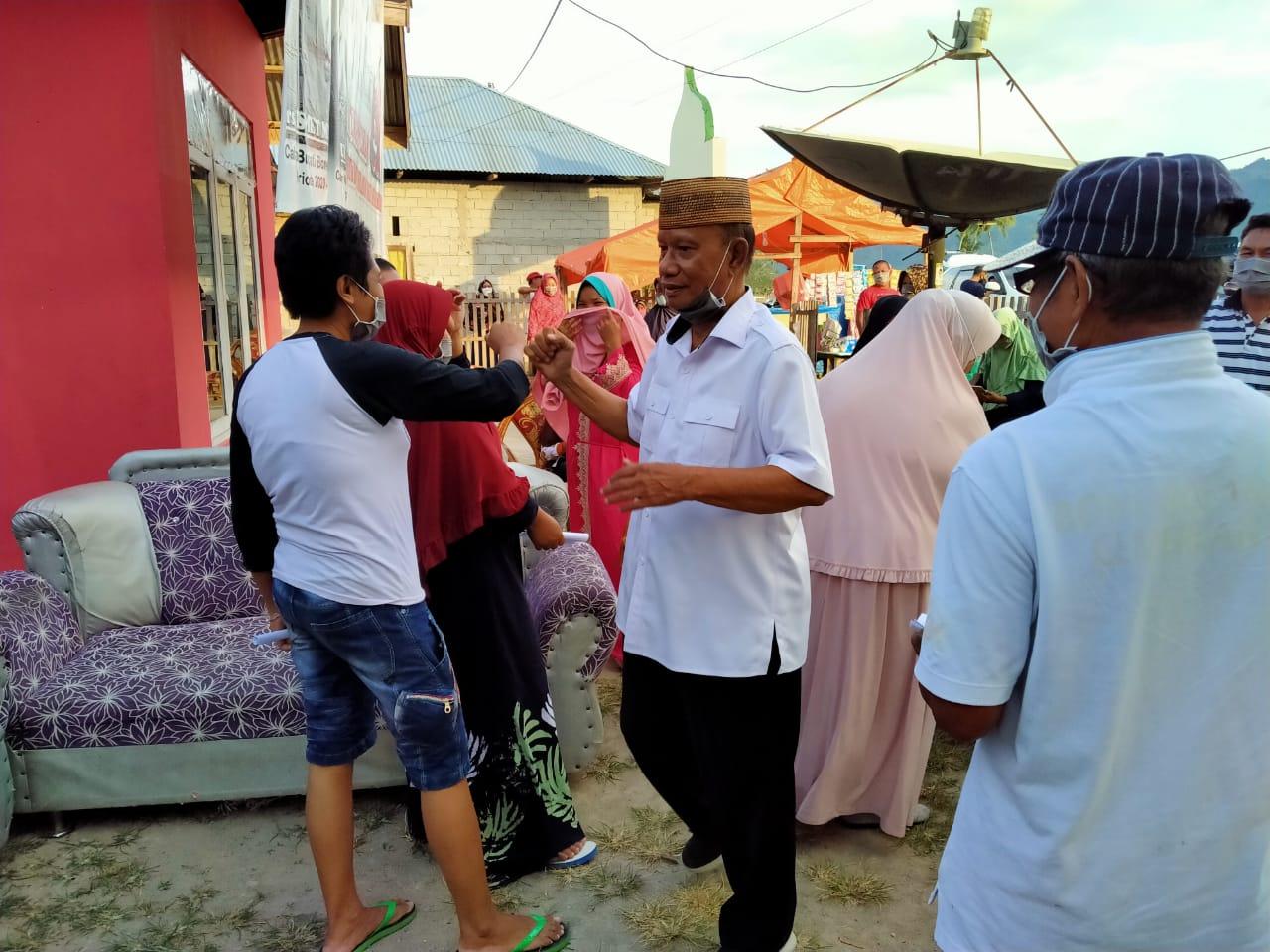 Ismet Mile Akan Mekarkan Kelurahan Padengo