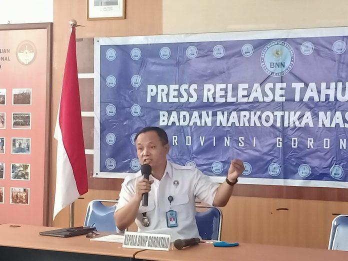 Kepala BNNP Gorontalo