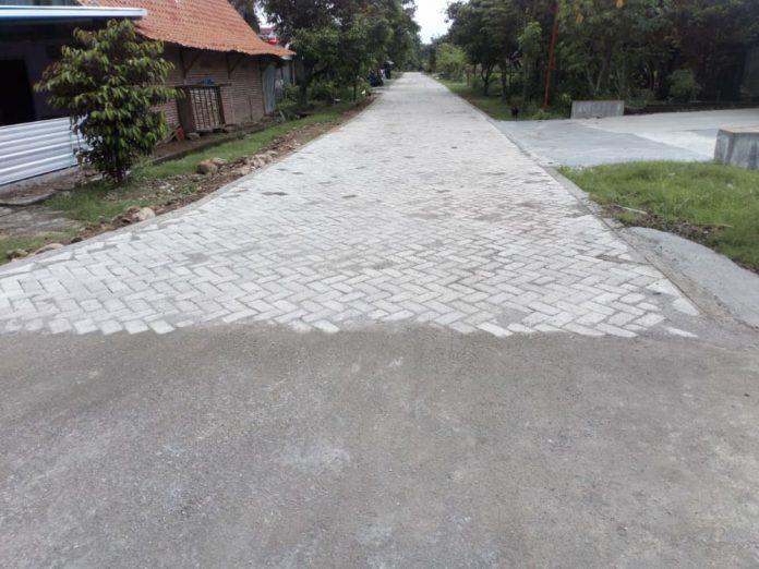Lokasi pengerjaan Proyek BKK tahun 2020 Desa Bajulan