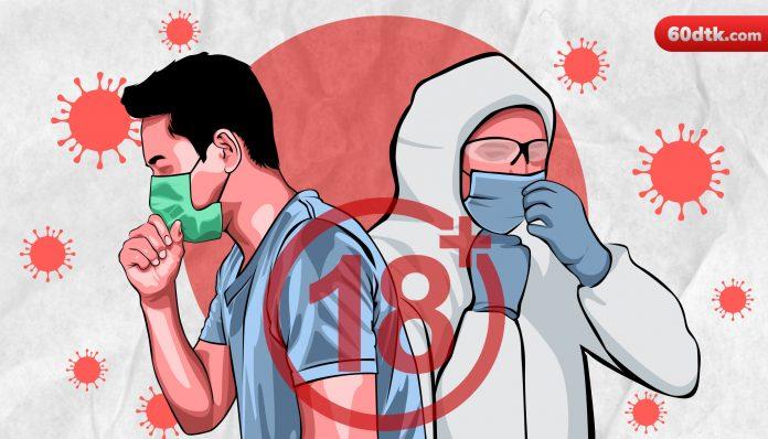 Ilustrasi Pasien Covid Berhubungan Badan dengan Nakes