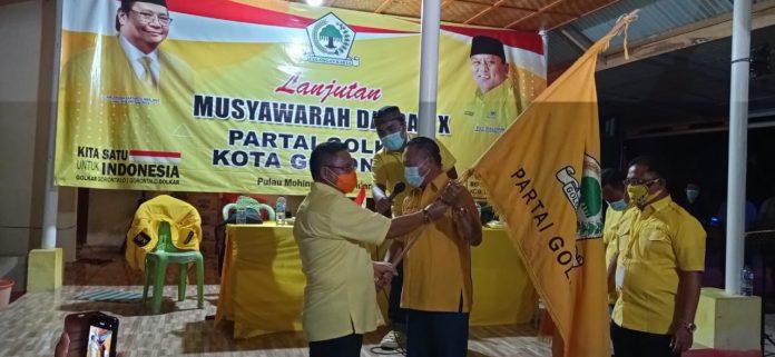 Marten Taha Ketua DPD II Golkar Kota Gorontalo