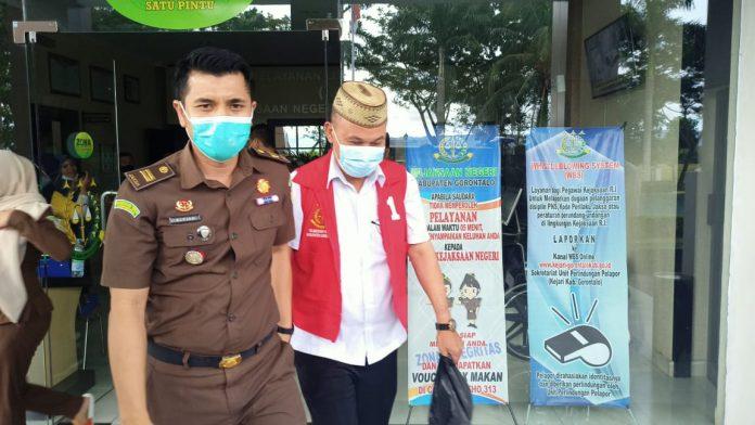 Salah Satu Tersangka Kasus Tipikor Pembangunan Gedung DPRD Kabupaten Gorontalo