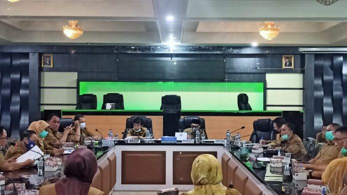 rapat rapat e-Monep Kabupaten Gorontalo
