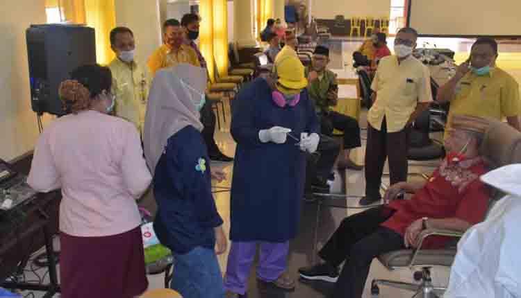 Amin Haras dan Sejumlah Pejabat di Pohuwato Jalani Swab Test