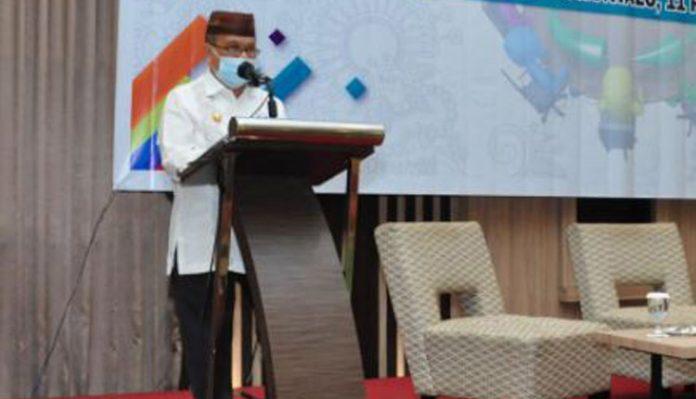 Bapppeda Gorontalo Gelar Forum Konsultasi Publik RKPD Tahun 2022