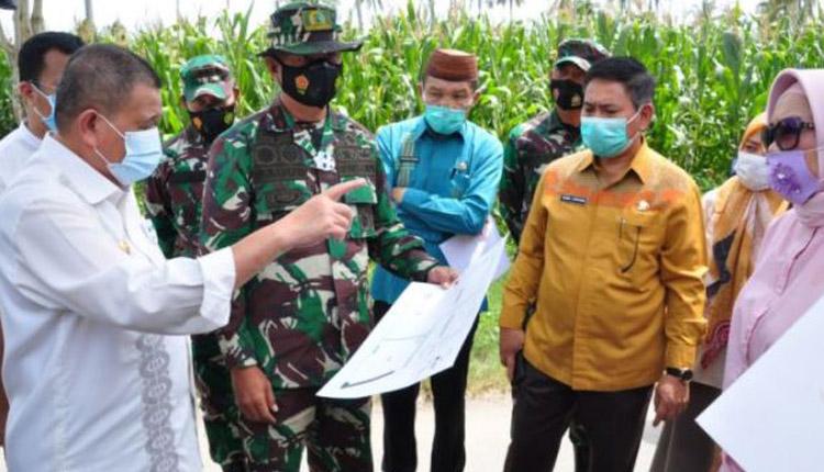 Wakil Gubernur Gorontalo Tinjau Kesiapan Lahan Pembangunan Secaba