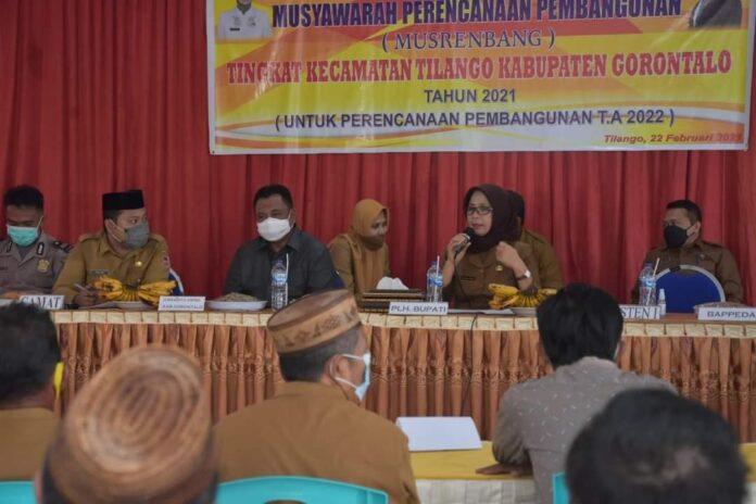 Hadijah Minta Musrenbang Kecamatan Fokus Program Kesejahteraan Rakyat