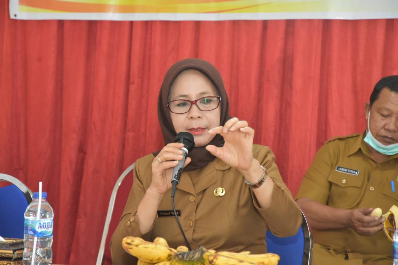 Plh Bupati Gorontalo Minta Pemerintah Desa dan Kecamatan Bangun SDM