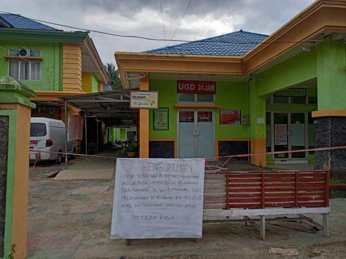 Puskesmas Kwandang Kabupaten Gorontalo Utara, Belum Menerima Pelayanan Kesehatan