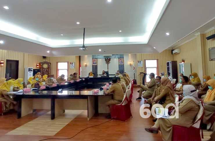 Rapat Kesehatan di Gorontalo Utara