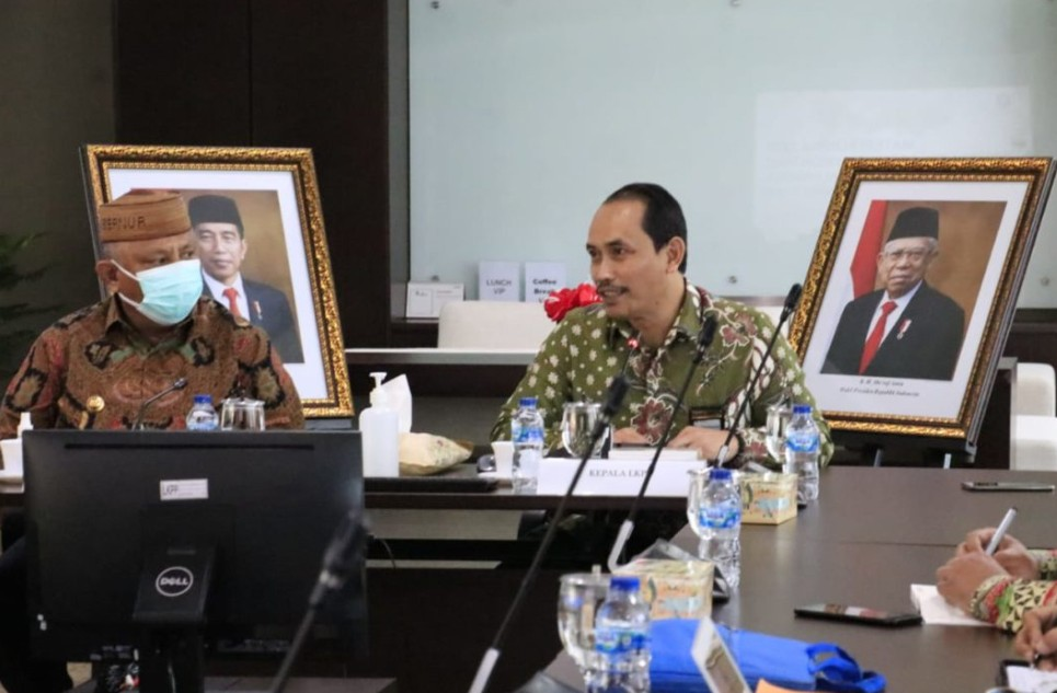 Bahas Metode Pengadaan, Gubernur Gorontalo Temui Kepala LKPP