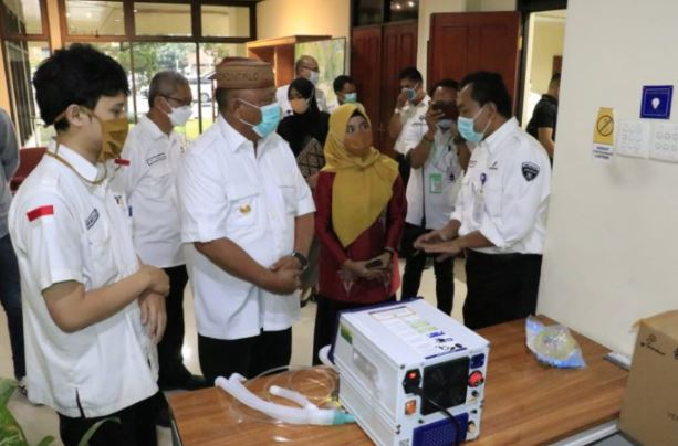 Kerjasama dengan PT. Pindad Tangani Covid-19 Diseriusi Gubernur Gorontalo