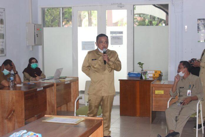 Bangun Silaturahmi, Hendra Hemeto Kunjungi OPD Kabupaten Gorontalo