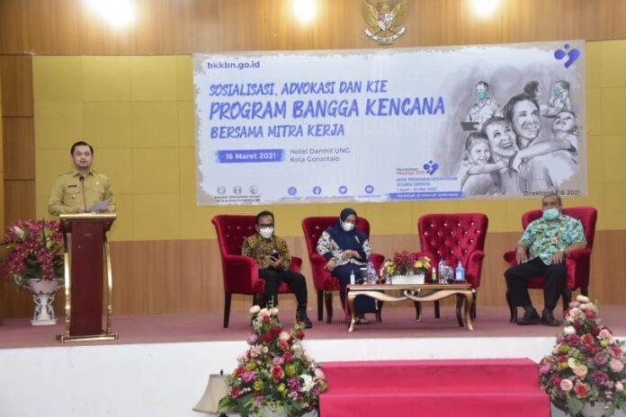 Pemerintah Kota Gorontalo Dukung Program Bangga Kencana