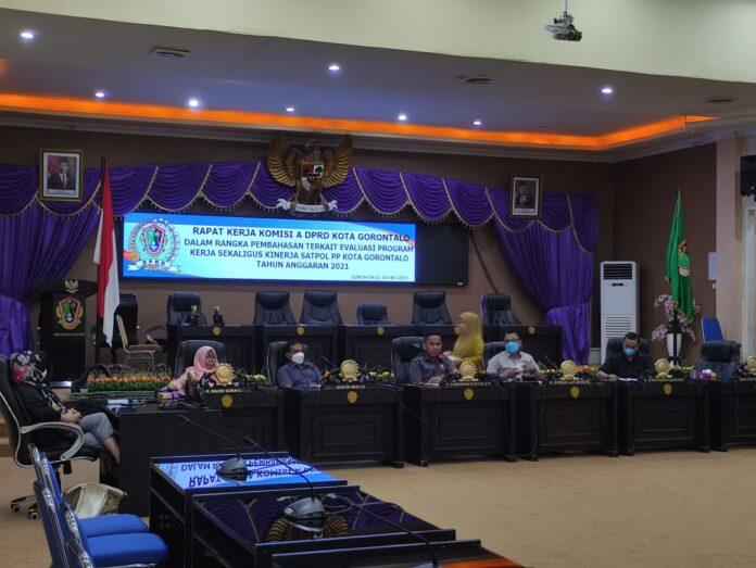 DPRD Kota Gorontalo Soroti Kinerja Satpol PP