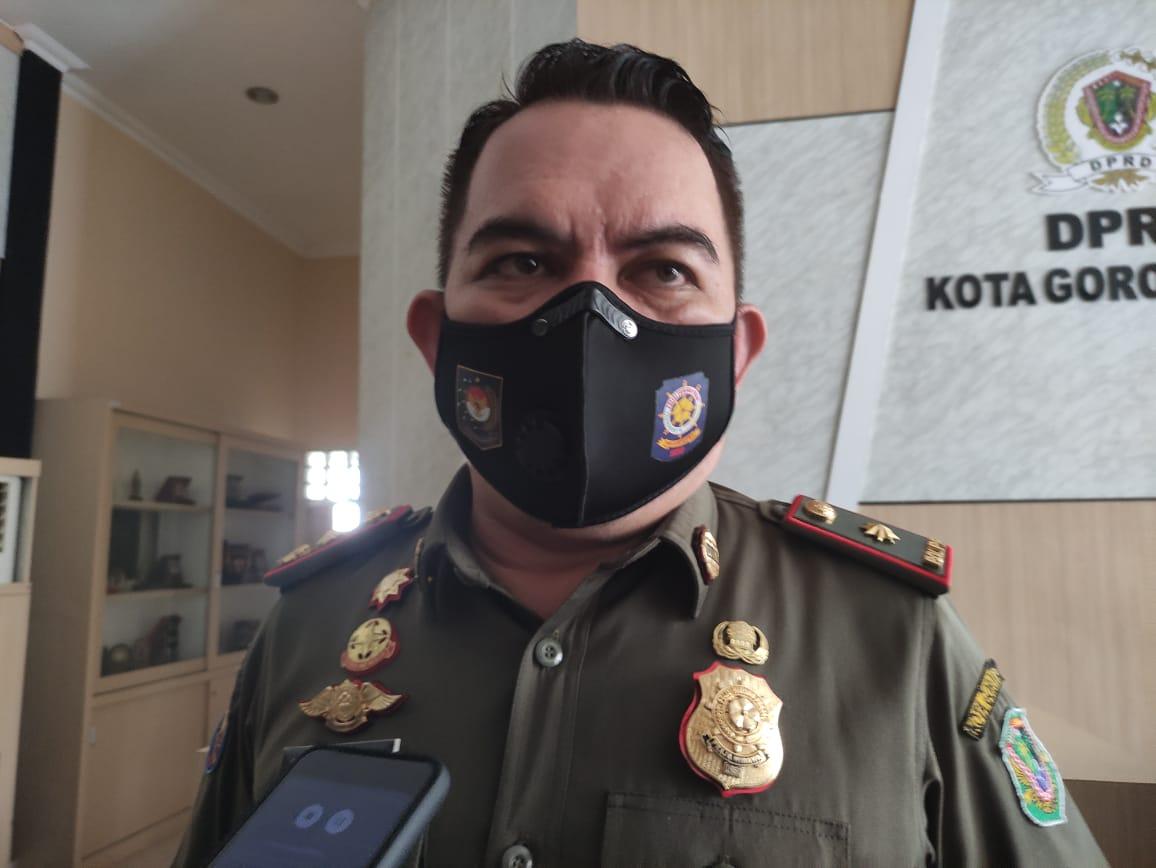 Kepala Satpol PP Kota Gorontalo, Melky Datau