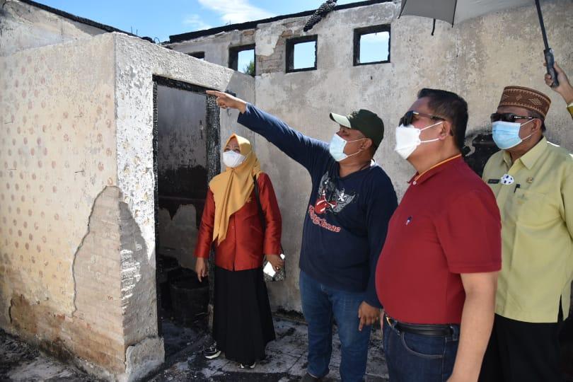 Korban Kebakaran di Tanggikiki