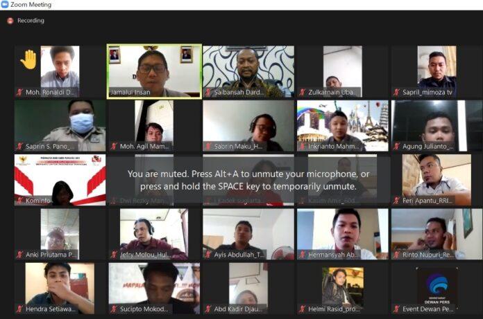 Pra Uji Kompetensi Wartawan di Gorontalo Digelar Secara Virtual