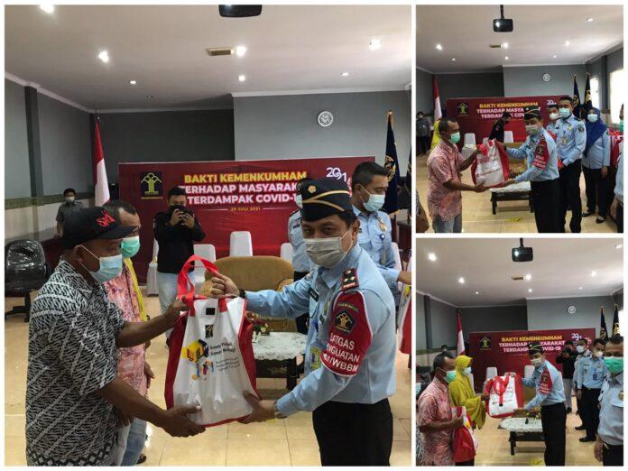 Kanim Gorontalo Gelar Bakti Sosial