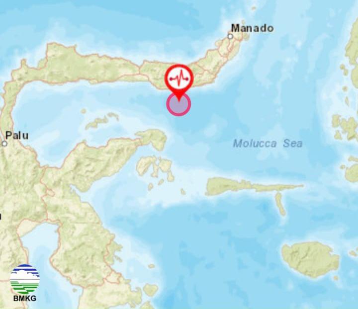 Gempa 5,9 Guncang Sulawesi Utara, Terasa hingga di Gorontalo