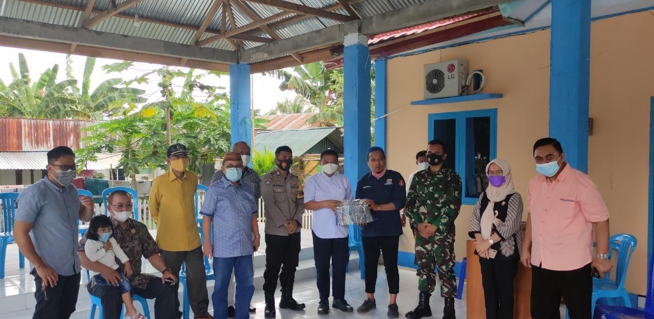 Pantau PPKM Mikro, DPRD Provinsi Gorontalo Akui Kepatuhan Masyarakat Olohuta Utara