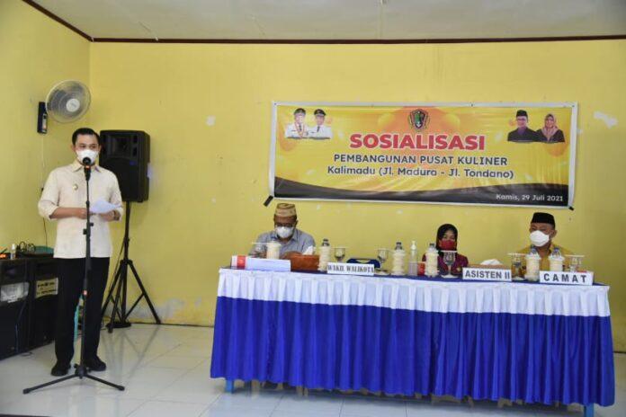 Ryan Kono Ajak Masyarakat Sukseskan Pembangunan Pusat Kuliner Kalimadu