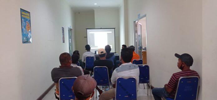 DKP Gorontalo Utara Gelar Pelatihan Pengoperasian Kapal kepada Nelayan