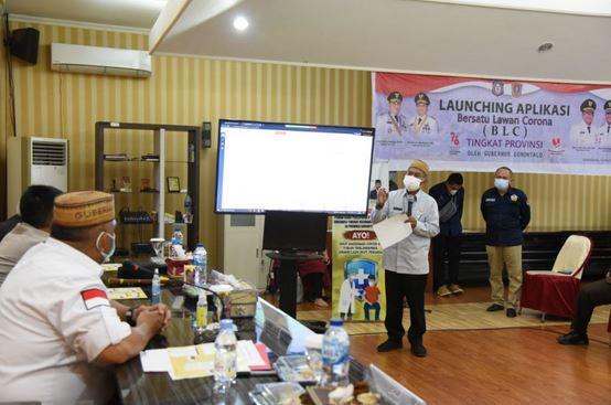 Aplikasi Pelaporan Percepatan Akselerasi Vaksinasi di Gorontalo Resmi diluncurkan