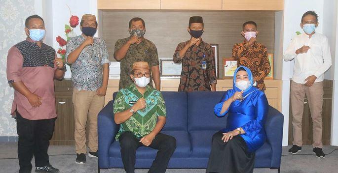 Suharsi Igirisa Sampaikan Aspirasi Warga ke Dinas PU Provinsi