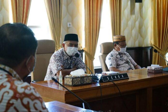 Timsel KPID Gorontalo Audiensi dengan Sekretaris Daerah