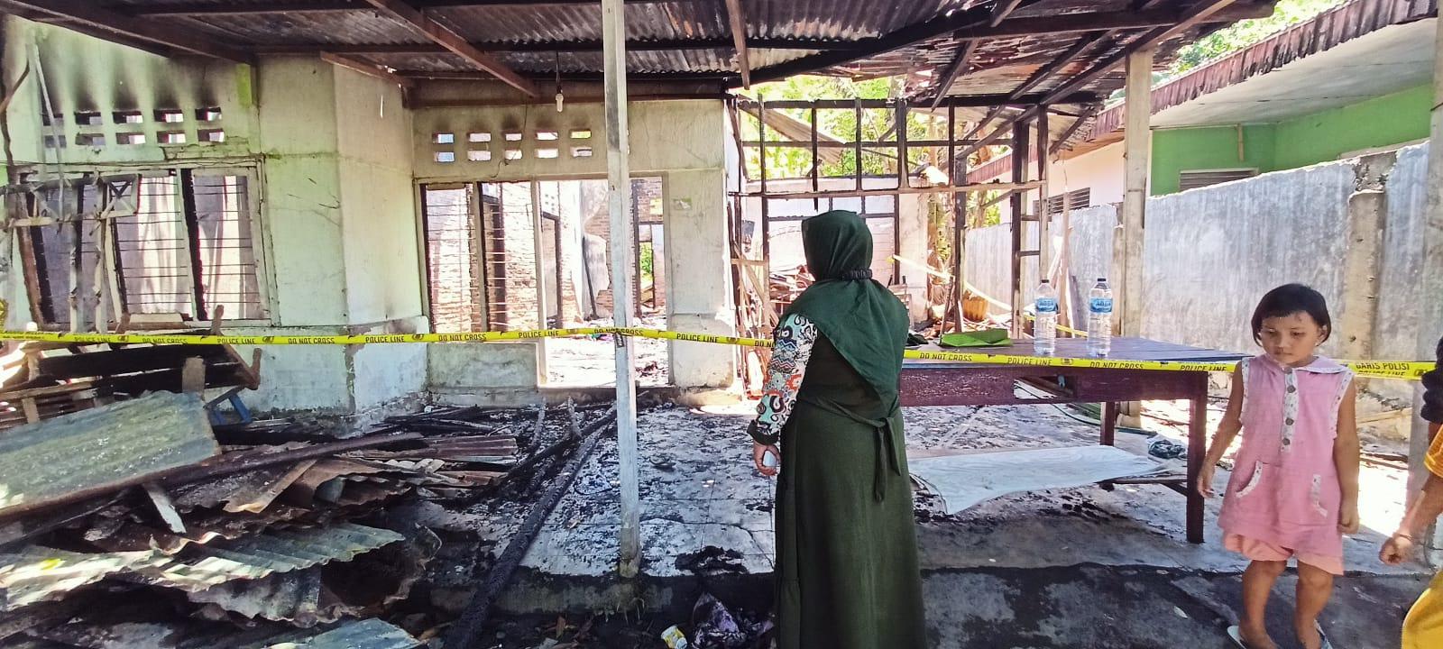 Sebuah Rumah di Limboto Terbakar, Tak Ada Barang Tersisa