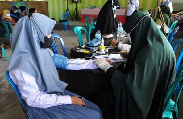 Sebanyak 108 Pelajar Usia 12 – 18 Tahun di Lopo akan divaksin Covid-19