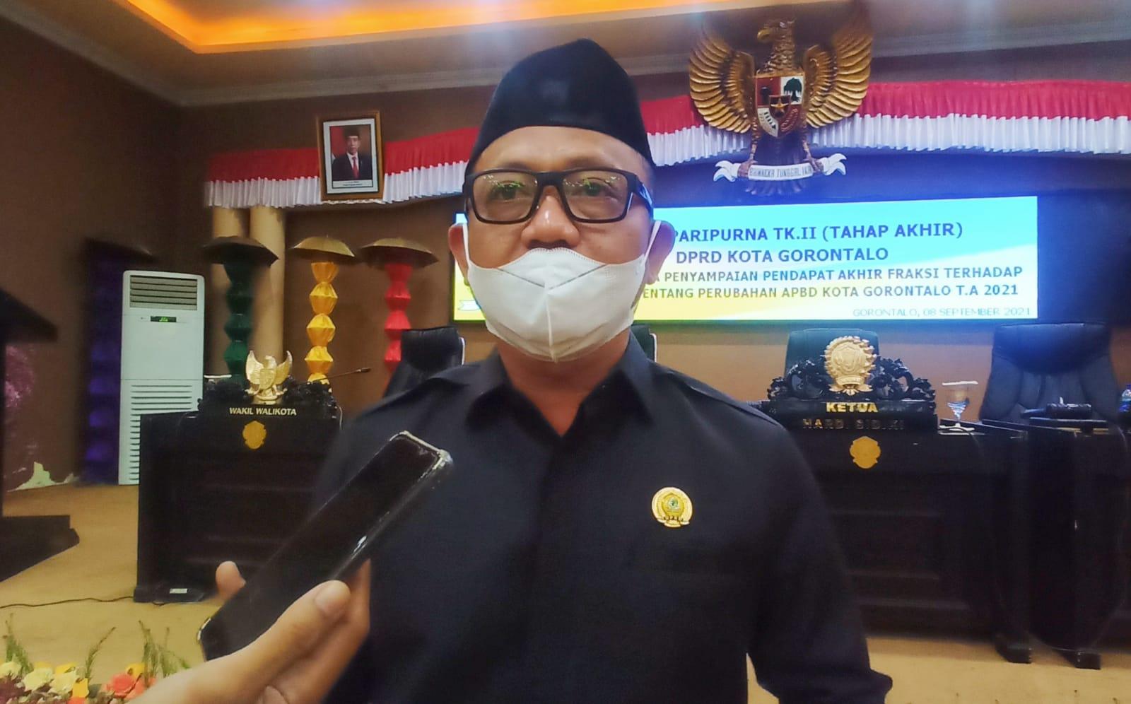 Rp8 Miliar Insentif Nakes Kota Gorontalo sudah dianggarkan dalam APBD-P