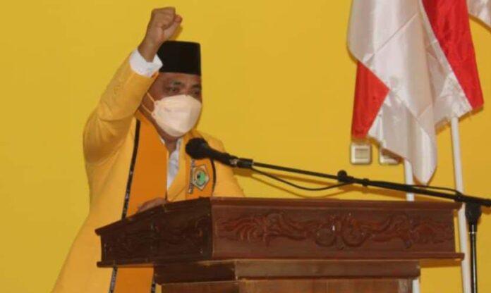 Hendra Hemeto Kembali Pimpin Golkar Kabupaten Gorontalo