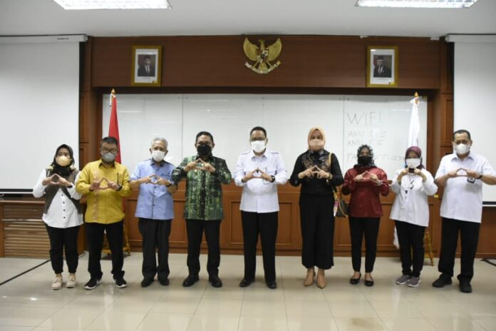 Tingkatkan Penyelenggaraan Kearsipan, Walikota Gorontalo Kunjungi ANRI