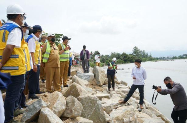 Janji Suharso Monoarfa soal Penanganan Banjir di Kota Gorontalo mulai Terwujud
