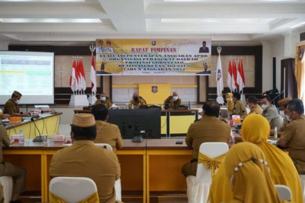 Realisasi Penyerapan APBD Provinsi Gorontalo, 21 OPD Lewati Target