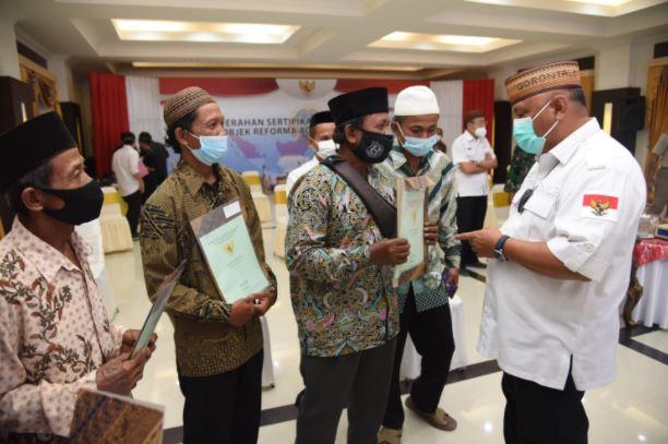 Gubernur Gorontalo minta Sertifikat Tanah dari Pemerintah jangan Dipinjamkan