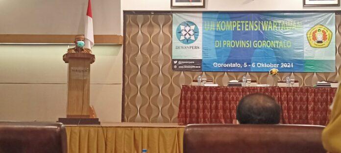 Gubernur Gorontalo Sambut Baik Pelaksanaan UKW Gratis oleh Dewan Pers