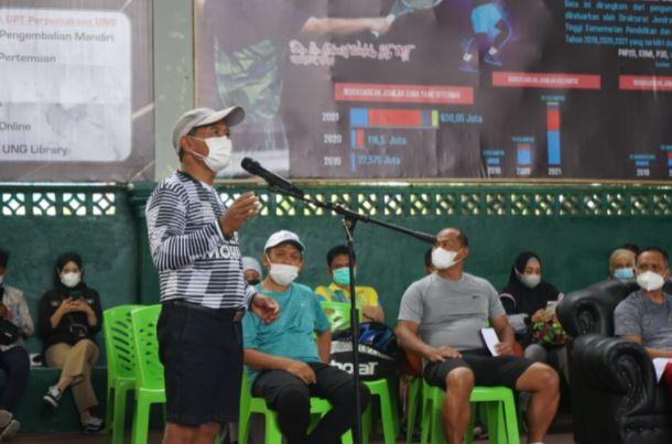 Kejuaraan Tenis Dumhil Open, Darda Daraba Ingatkan Sportivitas